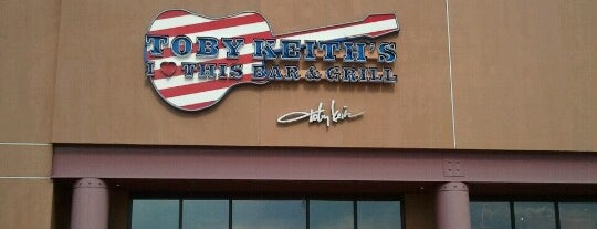 Toby Keith's Bar & Grill is one of Famous Musicians Restaurants.