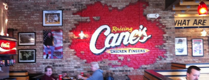 Raising Cane's Chicken Fingers is one of ohio 💖.