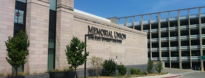 Iowa State Memorial Union is one of 2012 Student Choice winners.
