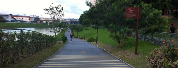 Pang Sua Park Connector is one of Trek Across Singapore.