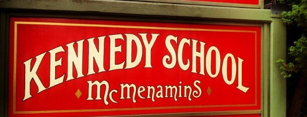McMenamins Kennedy School is one of Portland/Oregon.