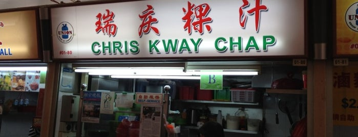 Chris Kway Chap is one of Singapore Food.