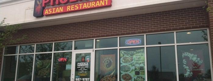 Phoenix Asian Restaurant is one of Tempat yang Disimpan Chris.