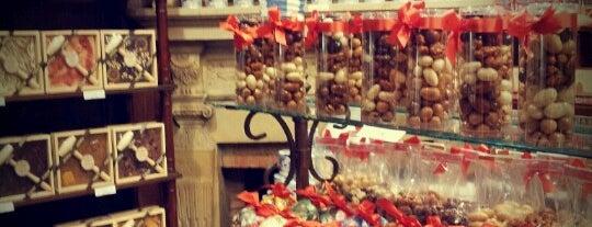 Le chocolatier Bruyerre is one of Brussels.