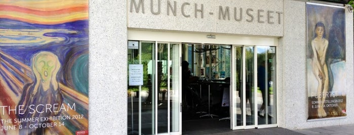 Munch Museum is one of Oslo City Guide.