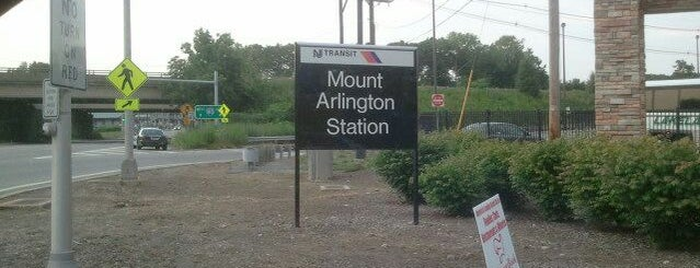 NJT - Mt. Arlington Station (M&E/MOBO) is one of New Jersey Transit Train Stations.
