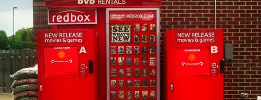 Redbox is one of Services.