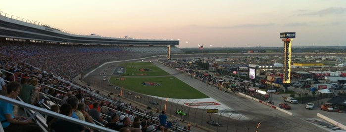 Texas Motor Speedway is one of Alicia's Top 200 Places Conquered & <3.