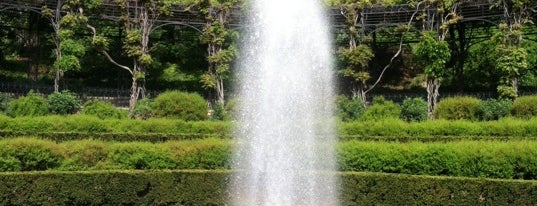 Conservatory Garden Center Fountain is one of NY.