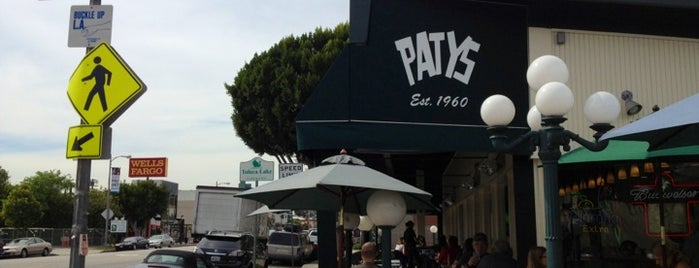 Patys is one of Oldest Los Angeles Restaurants Part 1.