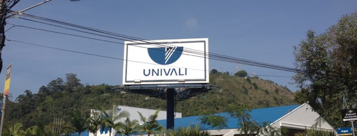 UNIVALI - Universidade do Vale do Itajaí is one of Itajaí.