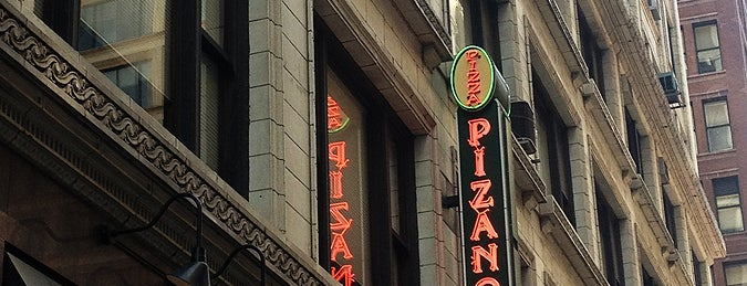Pizano's Pizza is one of Chicago.