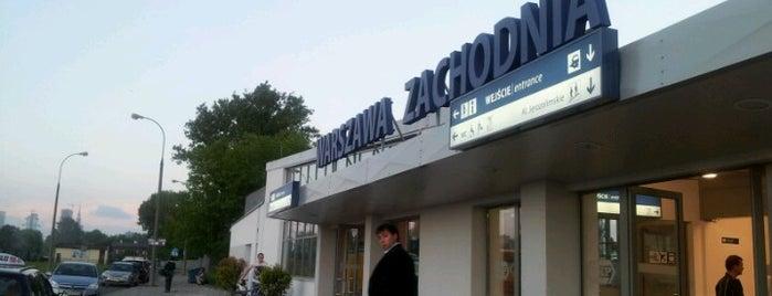 Warszawa Zachodnia is one of tredozio.