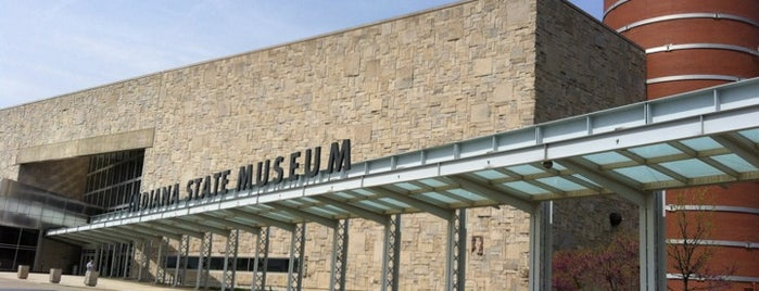 Indiana State Museum is one of StorefrontSticker City Guides: Indianapolis.