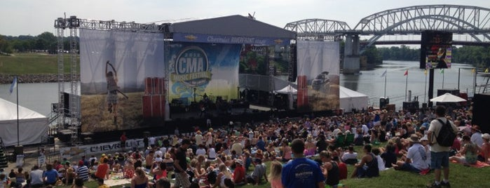 Chevrolet Riverfront Stage is one of Nashville Music Venues.