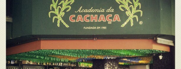Academia da Cachaça is one of Rio.