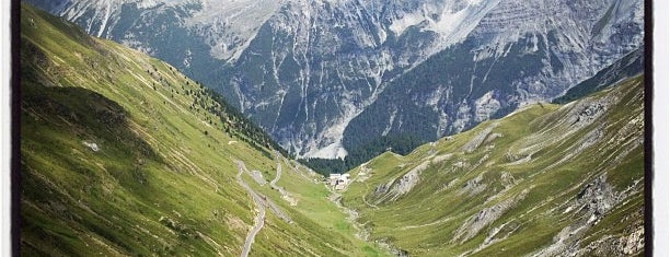 Stilfser Joch / Passo dello Stelvio is one of Europe.