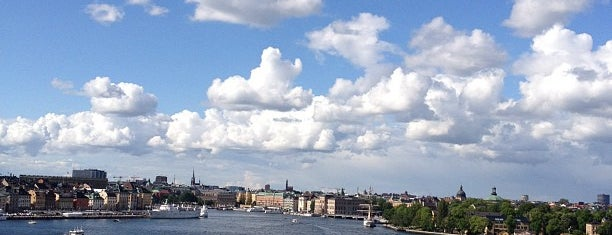 Fjällgatan is one of Stockholm City Guide.
