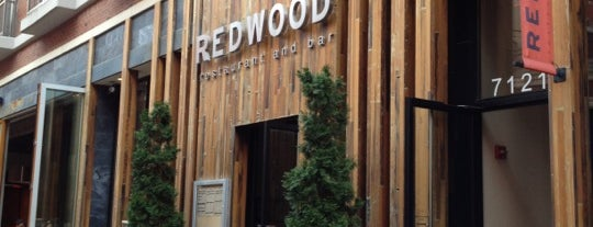 Redwood is one of Locais salvos de Donna.