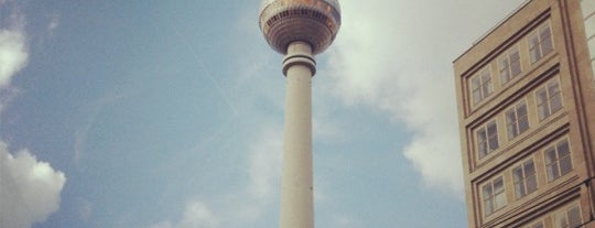 Alexanderplatz is one of Berlin, baby!.