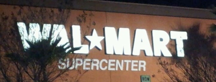 Walmart Supercenter is one of 626 Young, Wild, and Free.
