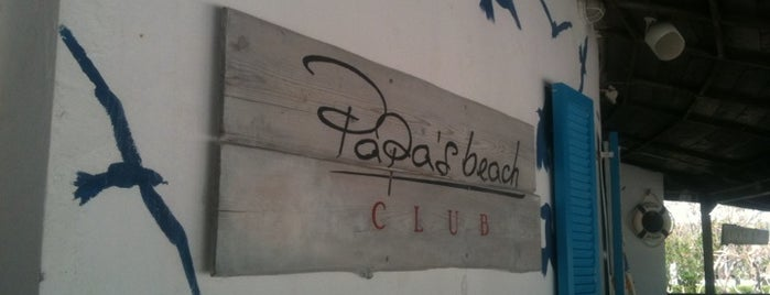 Papa's beach bar is one of Locais curtidos por Natalia.