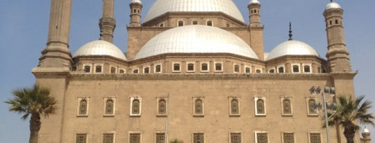 The Saladin Citadel of Cairo is one of Locais salvos de Queen.