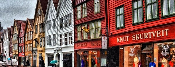 Bergen is one of Norway :).