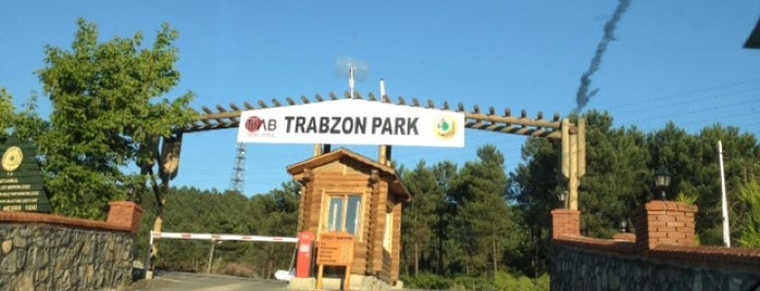 Trabzon Park is one of Yasemin Arzu 님이 저장한 장소.