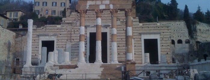 Capitolium - Tempio Capitolino is one of Brescia: discover the Lioness of Italy #4sqcities.