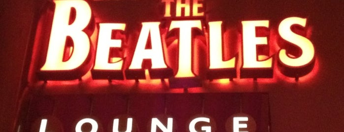 The Beatles REVOLUTION Lounge is one of Vegas Favorites by a Local.