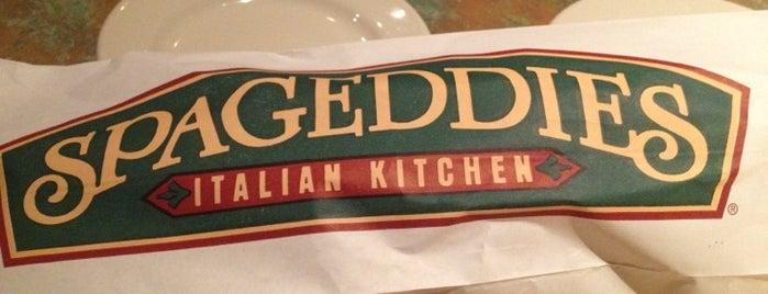 Spageddies Italian Kitchen is one of Tempat yang Disukai Jonathan.
