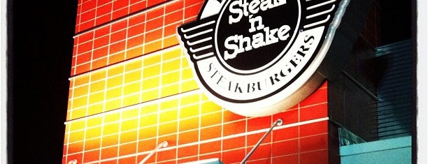 Steak 'n Shake is one of Christopher'in Beğendiği Mekanlar.