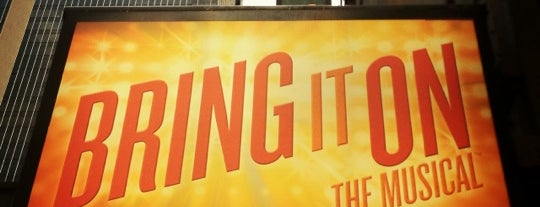 BRING IT ON @ St. James Theater is one of A Trip to New York.