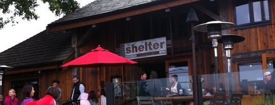 Shelter Restaurant is one of Vancouver Island.