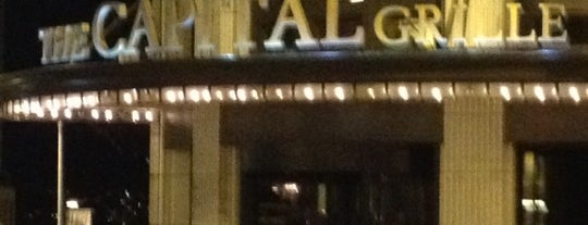 The Capital Grille is one of 2012 MLA Seattle.
