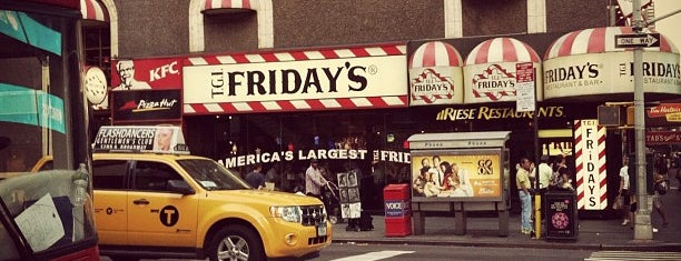 TGI Fridays is one of Mark 님이 좋아한 장소.