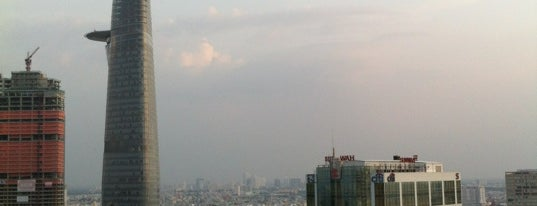 Sheraton Saigon Hotel & Towers is one of Favourite Rooftop Bars of the World.