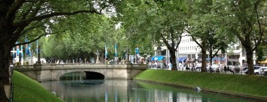 Königsallee (Kö) is one of StorefrontSticker #4sqCities: Düsseldorf.