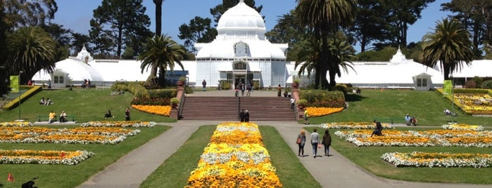 Conservatory of Flowers is one of San Fransisco.