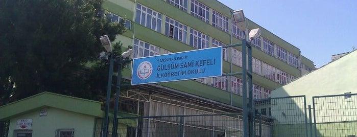 Gülsüm Sami Kefeli Orta Okulu is one of Tempat yang Disukai Pınar.