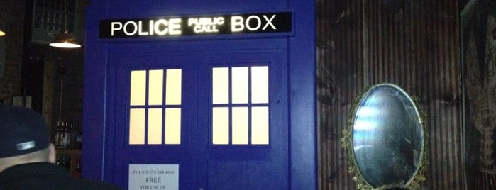 TARDIS at Way Station is one of Brooklyn.