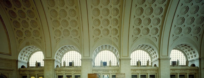 Union Station is one of History badge.