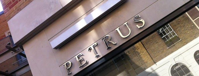Pétrus is one of London Restaurants.