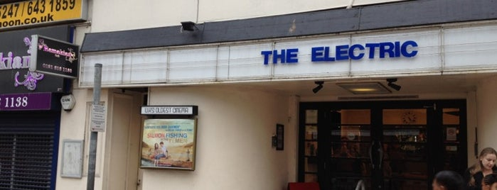 The Electric is one of Best Bars to watch the World Cup 2014 in the UK.