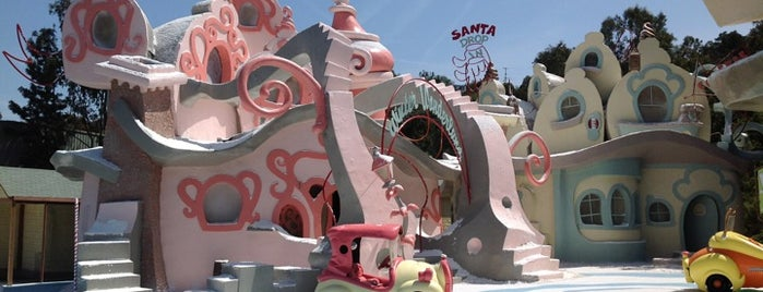 Whoville is one of Universal Studios Hollywood Loop.