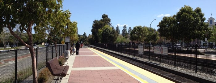 San Antonio Caltrain Station is one of FAVORITE :-).