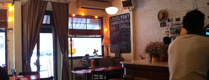 Lovely Day is one of Food Places to Try in NYC.