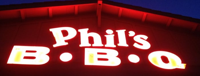 Phil's BBQ is one of BBQ.
