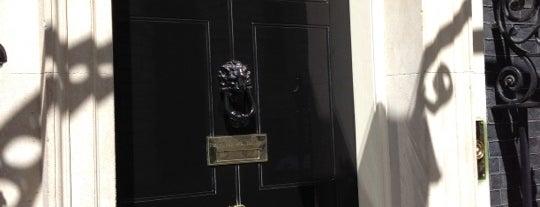 10 Downing Street is one of Мой список великих английских планов.